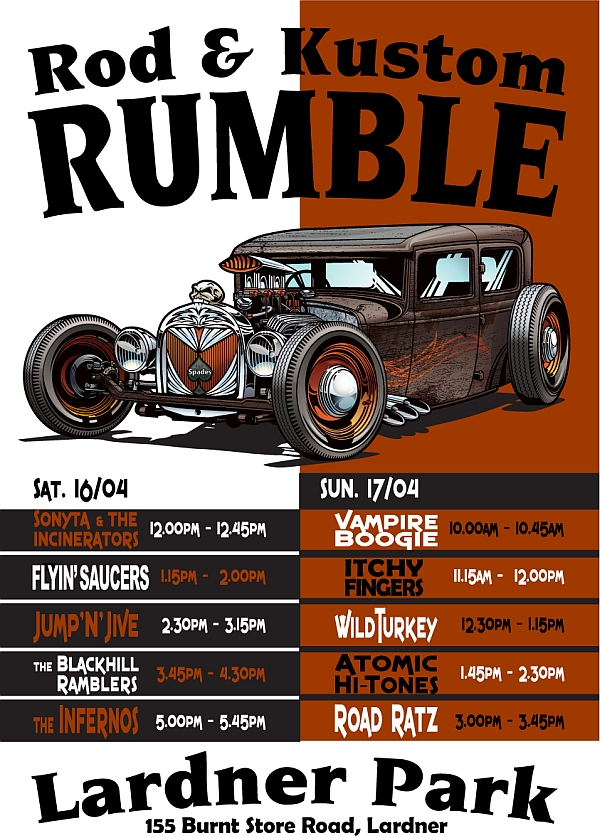 Hot Rod Rumble Music